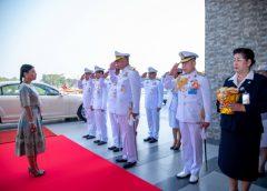 พระเจ้าหลานเธอ พระองค์เจ้าสิริวัณณวรีนารีรัตน์ เสด็จเป็นองค์ประธานประชุมคณะกรรมการโครงการอนุรักษ์แนวปะการังและสิ่งมีชีวิตใต้ทะเลไทย