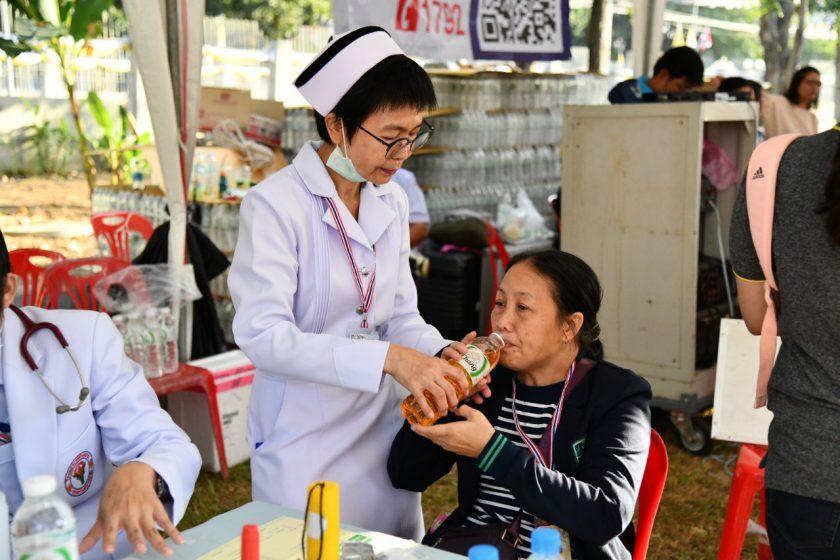 สาธารณสุขนครปฐม จัดเต็มบริการด้านการแพทย์และการสาธารณสุขคริคศาสนิกชน ที่เฝ้ารับเสด็จสมเด็จพระสันตปาปา