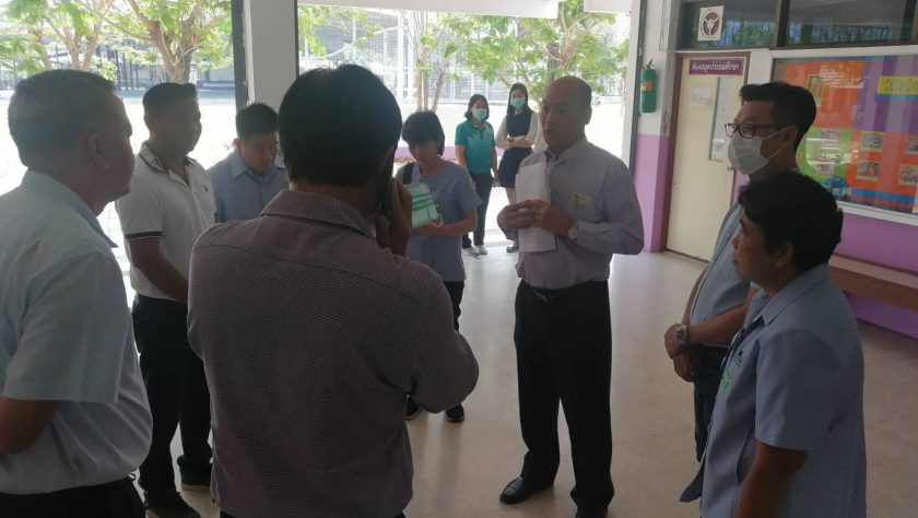 สาธารณสุขชื่นชมโรงเรียนดำเนินการป้องกันไข้หวัดใหญ่ สายพันธุ์ A และ B ในโรงเรียน ดูแลสุขภาพนักเรียนใกล้ชิด
