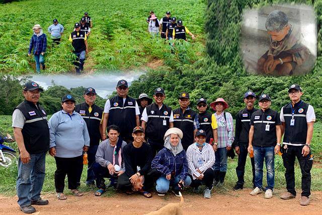 ศูนย์ตอบโต้ภัยพิบัติจังหวัดราชบุรี ร่วมค้นหาบุคคลสูญหาย