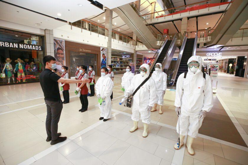 เซ็นทรัลพัฒนา ผู้นำสะอาด มั่นใจ ผนึก 33 สาขาทั่วประเทศ เดินหน้าฝ่าวิกฤต ยกการ์ดสูงสุดทั่วไทย ป้องกันเชิงรุกขั้นสูงสุดในทุกมิติ ผนึกพลังรวมกันใช้ชีวิตอย่างมีวินัย