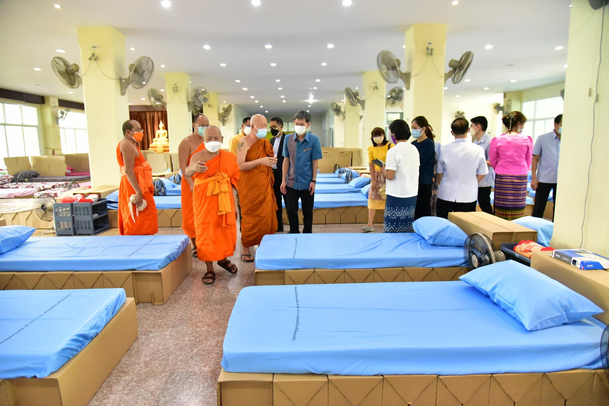 จังหวัดนครปฐม เปิดโรงพยาบาลสนามแห่งที่ 5 เพื่อรองรับผู้ป่วย ที่มีจำนวนเพิ่มมากขึ้น